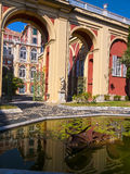 Palazzo Reale is a Savoy mansion and National Museum on the Via Balbi in Genoa Italy. A noble residence, Savoy mansion, and wonderful National Museum in the Royalty Free Stock Photo