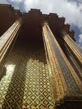 Palazzo reale tailandese Immagini Stock