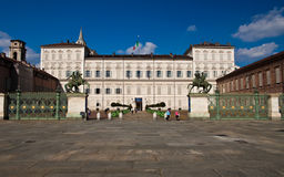 Palazzo Reale - Torino Stock Photography