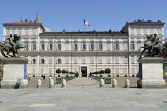 Palazzo reale Torino Fotografia Stock Libera da Diritti