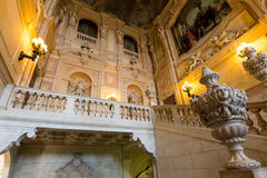 Palazzo Reale, Torino, Italia Fotografia Stock Libera da Diritti