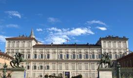 Palazzo Reale, Turijn Royalty-vrije Stock Afbeelding