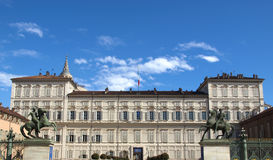 Palazzo Reale, Turin Royalty Free Stock Image