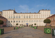 Palazzo Reale Turin Stock Image