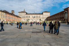Palazzo Reale in Turin, Italy Royalty Free Stock Photography