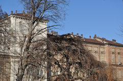 Palazzo Reale in Turin Stock Images