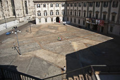 Palazzo Reale van Milaan Royalty-vrije Stock Foto's