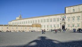 Palazzo Roma Italia Europa di Quirinal Immagini Stock