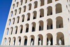 palazzo rome för civiltdellaitaliana Arkivfoto