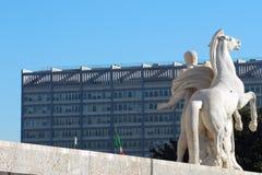palazzo rome för civiltdellaitaliana Fotografering för Bildbyråer