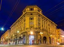 Palazzo Ronzani в болонья, Италии стоковое фото