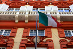 Palazzo Rosso, Генуя Стоковое Фото