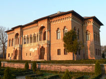 Palazzo rosso Fotografia Stock