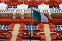 Palazzo Rosso, Gênes Photo stock
