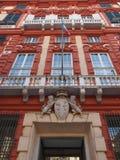 Palazzo Rosso in Genoa Italy Stock Photos