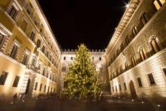 Palazzo Salimbeni à Sienne, Italie Image libre de droits