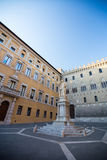 Palazzo Salimbeni, Siena, Toskana, Italien, Europa Lizenzfreie Stockbilder