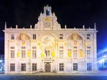 Palazzo san Giorgio, Genoa Royalty Free Stock Photo