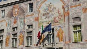 Palazzo San Giorgio och den h?gst?mda v?gen lager videofilmer