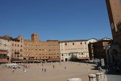 Palazzo Sansedoni 2 Royalty Free Stock Photo