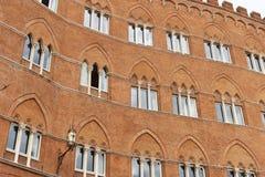 Palazzo Sansedoni Stock Photography