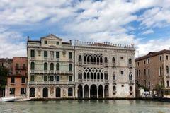 Palazzo Santa Sofia i Venedig, Italien Royaltyfri Fotografi