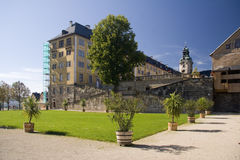 Palazzo Schloss Heidecksburg fotografia stock libera da diritti