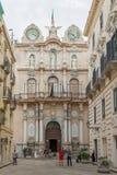 Palazzo Senatorio i Trapani Arkivfoto