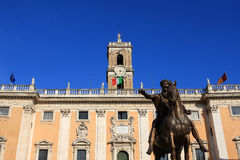Palazzo Senatorio, Rome Royalty Free Stock Photo