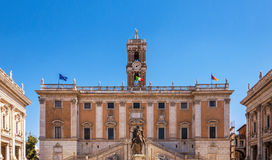 Palazzo Senatorio Royalty Free Stock Images