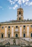 Palazzo Senatorio, Rome Royalty Free Stock Photos