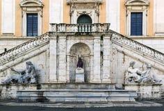 Palazzo Senatorio, Rome Stock Photo