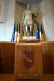 Palazzo Senatorio the seat of Comune di Roma Rome Council Royalty Free Stock Photo