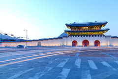Palazzo Seoul Corea di Geongbokgung Fotografie Stock