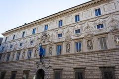 Palazzo Spada - Roma Immagine Stock Libera da Diritti