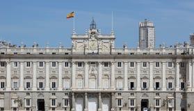 Palazzo spagnolo piacevole Fotografia Stock Libera da Diritti