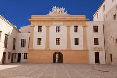 Palazzo Steri courtyard Stock Photography