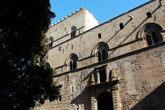 Palazzo steri, middle ages, palermo Stock Image