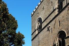 Palazzo steri, wieki średni, architektura Zdjęcie Royalty Free