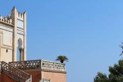 Palazzo Sticchi Санта Cesarea Terme Апулия стоковая фотография