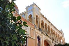 Palazzo Sticchi in Santa Cesarea Terme, Puglia, Italia fotografia stock libera da diritti