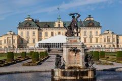 Palazzo Stoccolma Svezia di Drottningholm Fotografie Stock