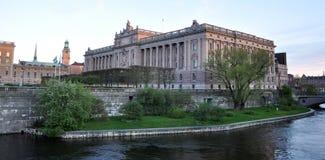 Palazzo a Stoccolma, Svezia, Europa Immagini Stock Libere da Diritti