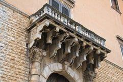 Palazzo storico andria La Puglia L'Italia Immagini Stock