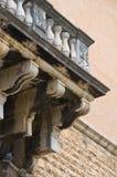 Palazzo storico andria La Puglia L'Italia Immagine Stock Libera da Diritti