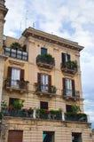 Palazzo storico bari La Puglia L'Italia Fotografie Stock
