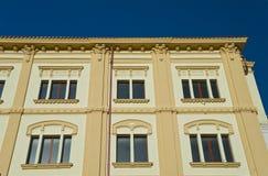 Palazzo storico Bovino La Puglia L'Italia Fotografia Stock
