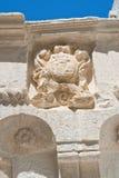 Palazzo storico Cisternino La Puglia L'Italia Fotografia Stock