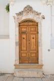 Palazzo storico Cisternino La Puglia L'Italia Fotografie Stock