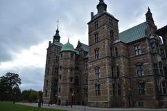 Palazzo storico a Copenhaghen Fotografia Stock Libera da Diritti